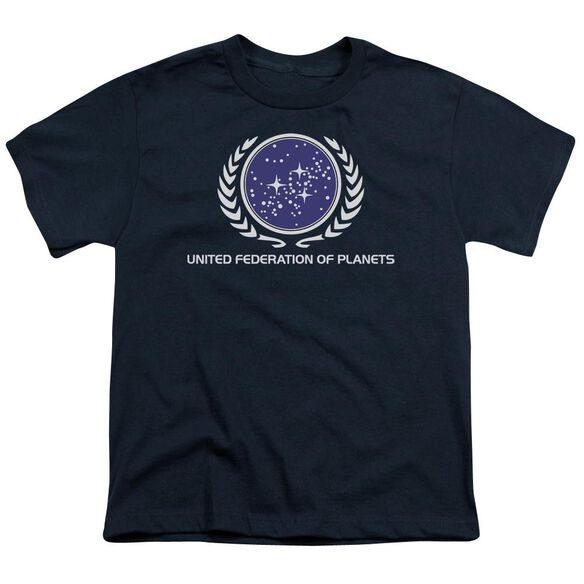 Star Trek United Federation Logo Short Sleeve Youth T-Shirt