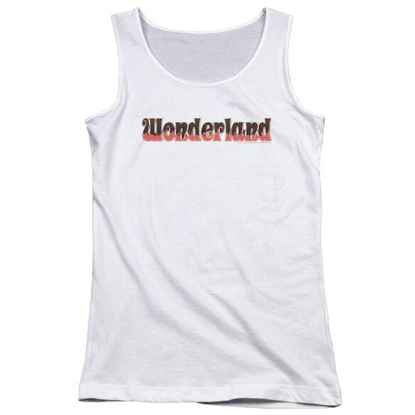 Zenoscope Wonderland Logo Juniors Tank Top