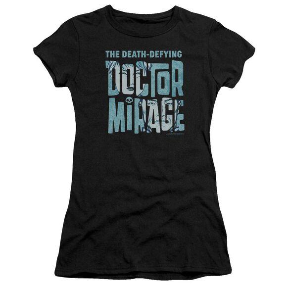 Doctor Mirage Character Logo Premium Bella Junior Sheer Jersey