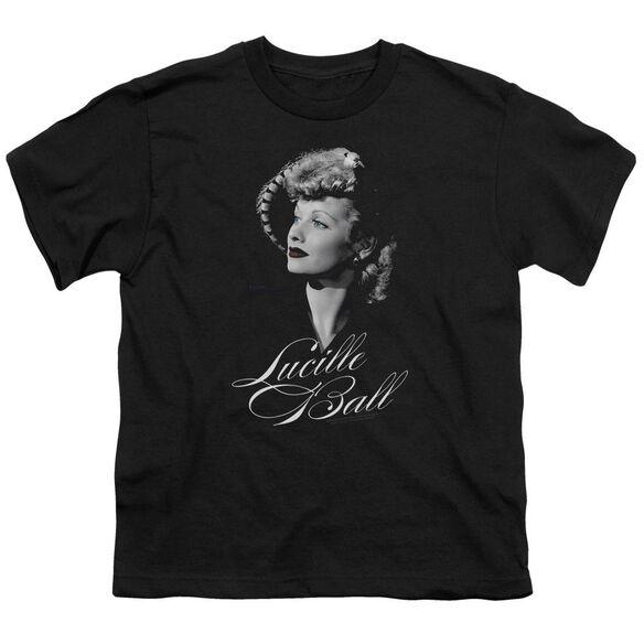 Lucille Ball Pretty Gaze Short Sleeve Youth T-Shirt