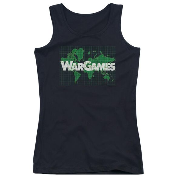 Wargames Game Board Juniors Tank Top