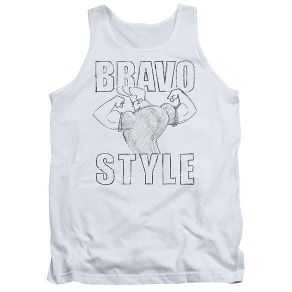 Johnny Bravo Bravo Style Adult Tank