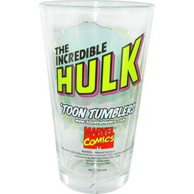 Incredible Hulk Punch Out Pint Glass