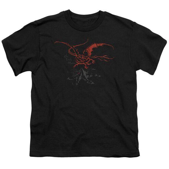 The Hobbit Smaug Short Sleeve Youth T-Shirt