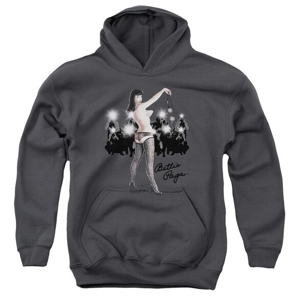 Bettie Page Paparazzi Youth Pull Over Hoodie