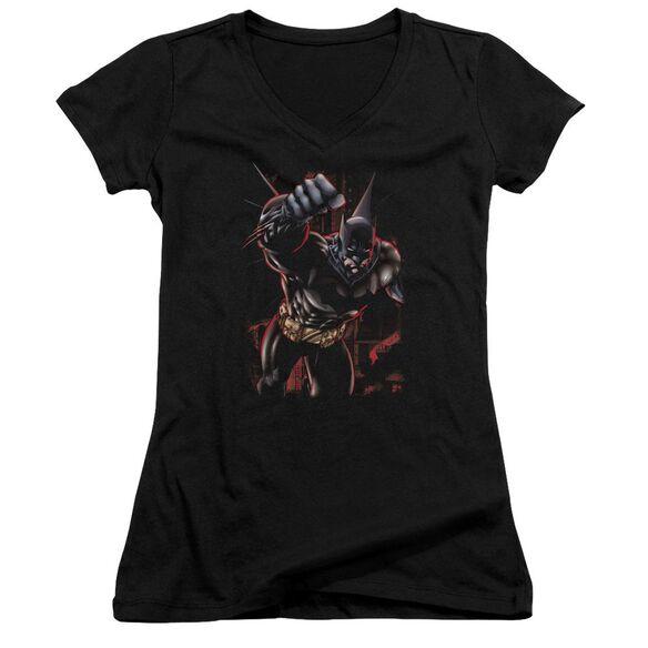 Batman Crimson Knight Junior V Neck T-Shirt