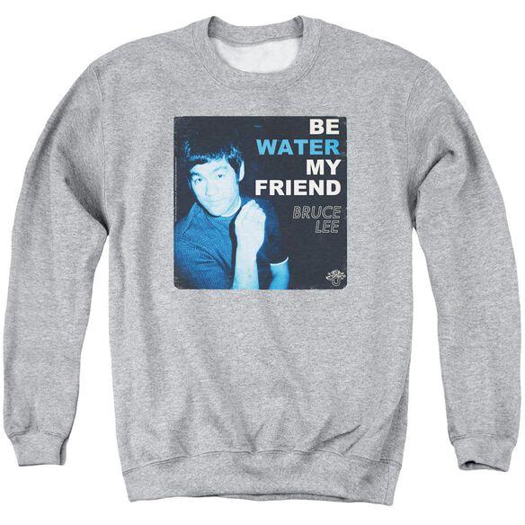 Bruce Lee Water Adult Crewneck Sweatshirt Athletic