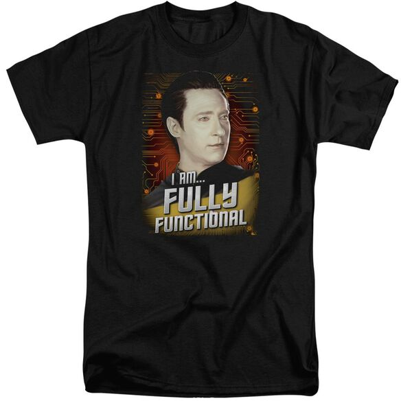 Star Trek Fully Functional Short Sleeve Adult Tall T-Shirt