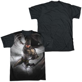 Batman Vs Superman Batman Light Short Sleeve Adult Front Black Back T-Shirt