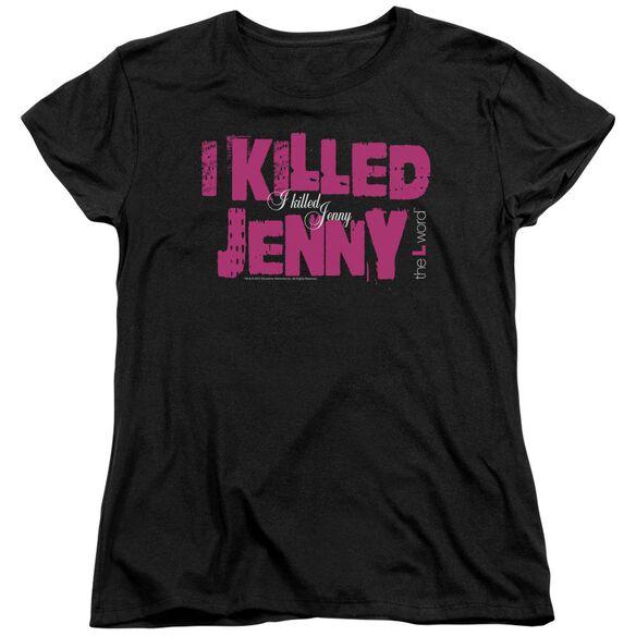 The L Word I Killed Jenny Short Sleeve Womens Tee T-Shirt