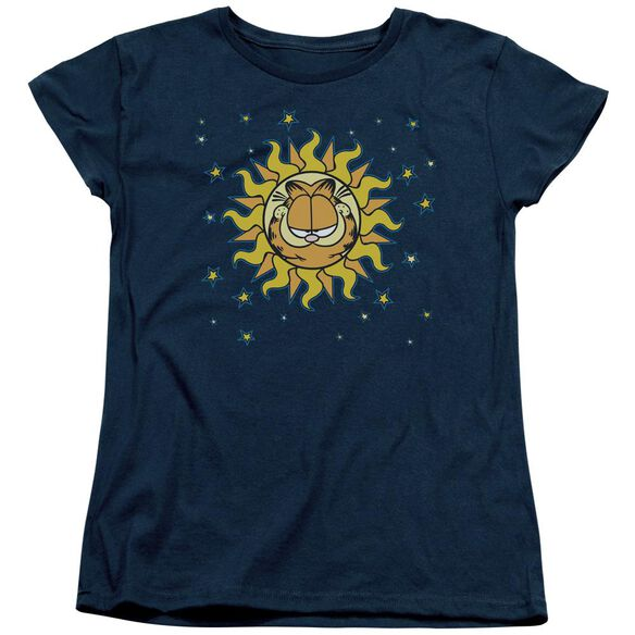 Garfield Celestial Short Sleeve Womens Tee T-Shirt
