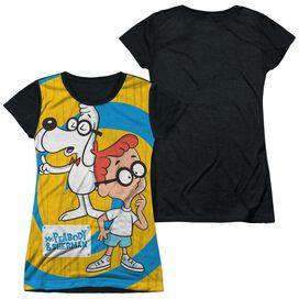 MR PEABODY & SHERMAN EXPLANATION-S/S JUNIOR POLY T-Shirt