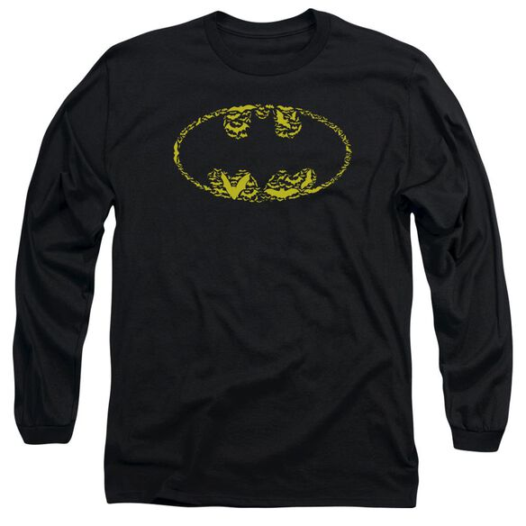 Batman Bats On Bats Long Sleeve Adult T-Shirt