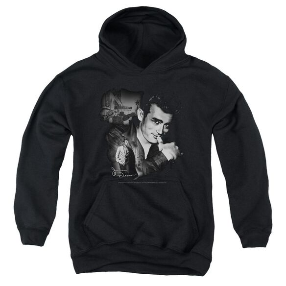 Dean Mischevious Large Youth Pull Over Hoodie