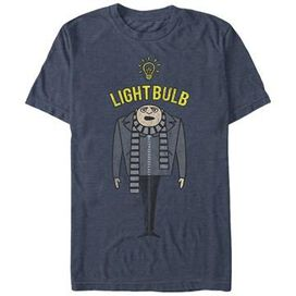 Despicable Me Gru Light Bulb T-Shirt