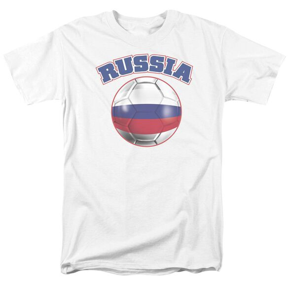 Russia Short Sleeve Adult T-Shirt