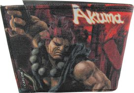 Street Fighter Ryu vs Akuma Bi-fold Wallet