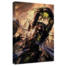 Predator Heads Up Canvas Wall Art With Back Board