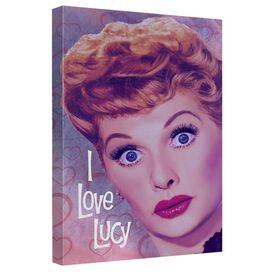 I Love Lucy Heart Portrait Quickpro Artwrap Back Board