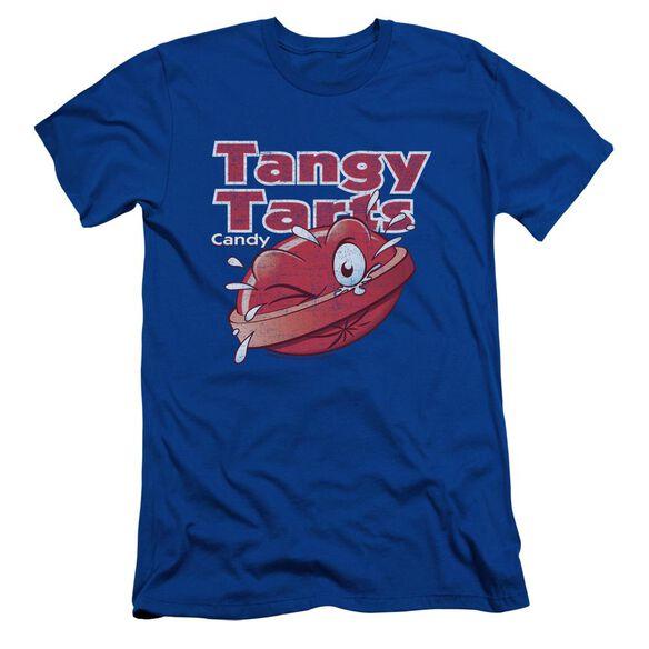 Dubble Bubble Tangy Tarts Short Sleeve Adult Royal T-Shirt