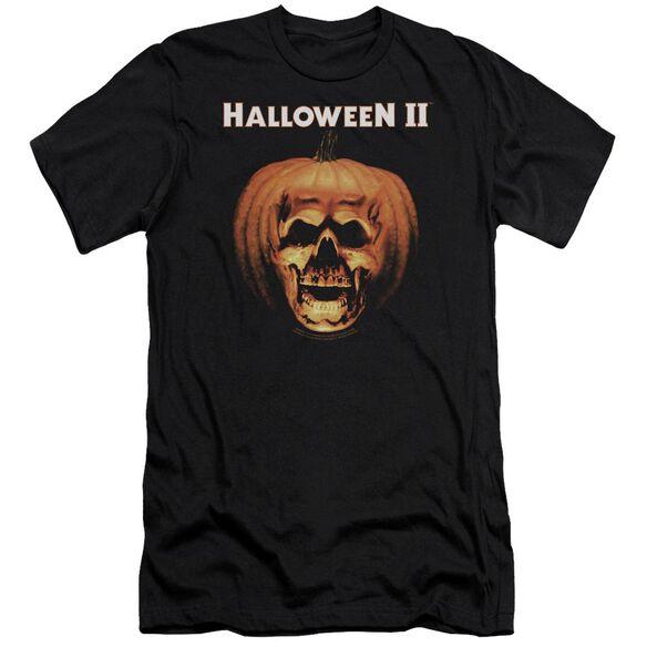 Halloween Ii Pumpkin Shell Premuim Canvas Adult Slim Fit