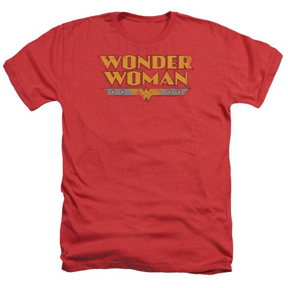 Dc Wonder Woman Logo Adult Heather