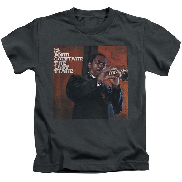 John Coltrane Last Trane Short Sleeve Juvenile Charcoal T-Shirt