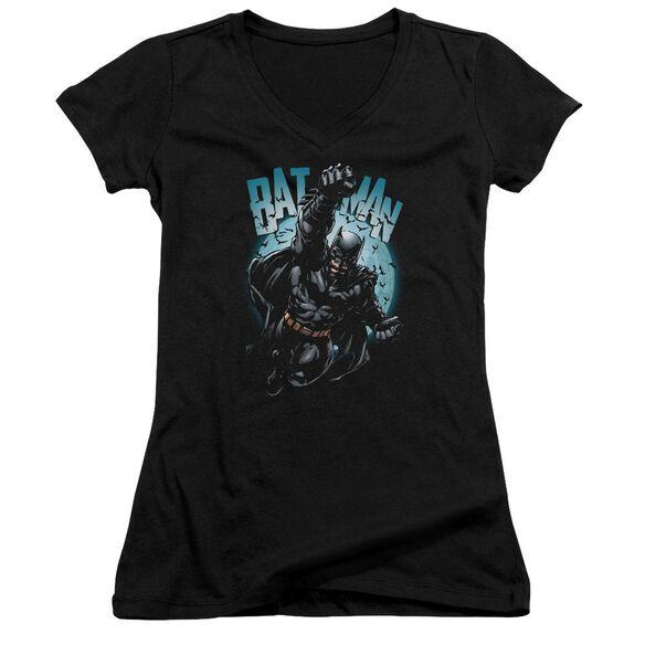 Batman Moon Knight Junior V Neck T-Shirt
