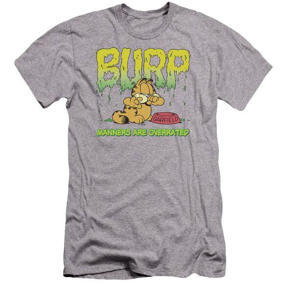 Garfield Manners Premuim Canvas Adult Slim Fit Athletic