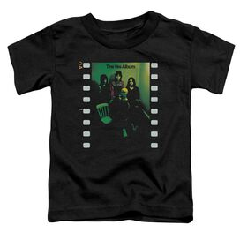 Yes Album Short Sleeve Toddler Tee Black T-Shirt
