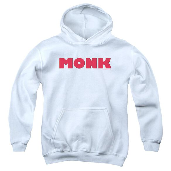 Monk Logo Youth Pull Over Hoodie