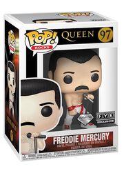 Funko Pop! Rocks: Queen - Freddie Mercury (Diamond Collection), , large