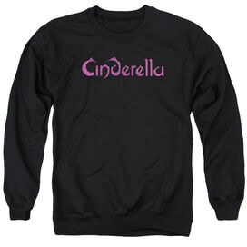 Cinderella Logo Rough Adult Crewneck Sweatshirt