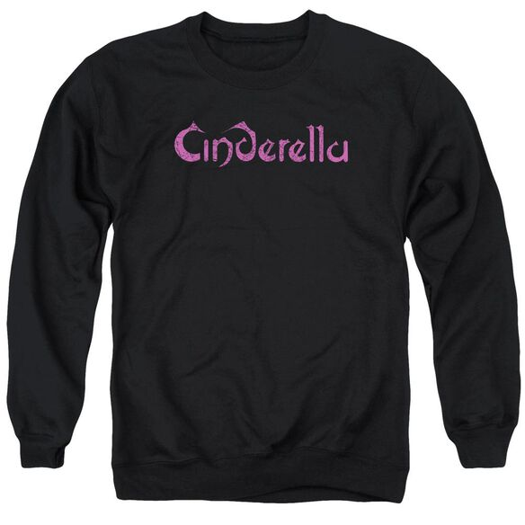 Cinderella Logo Rough Adult Crewneck Sweatshirt