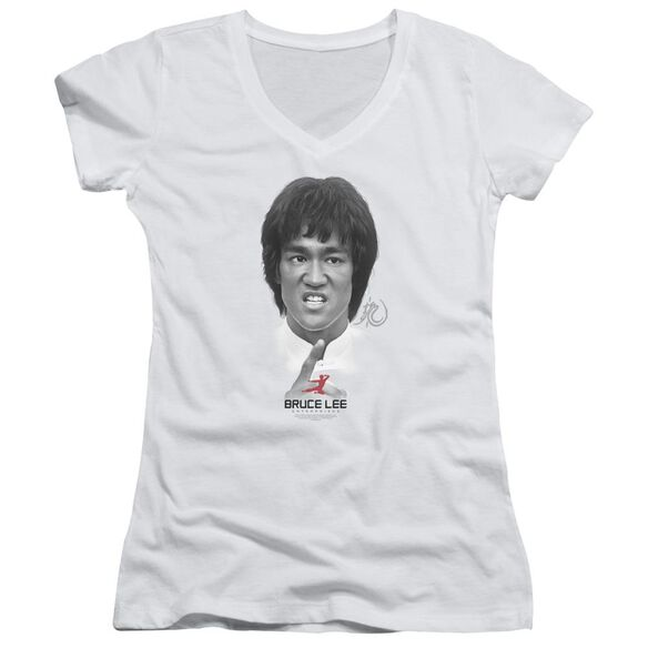 Bruce Lee Self Help Junior V Neck T-Shirt