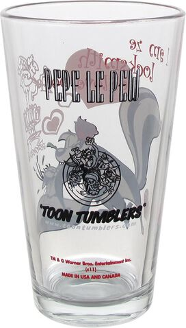 Looney Tunes Pepe Le Pew Pint Glass
