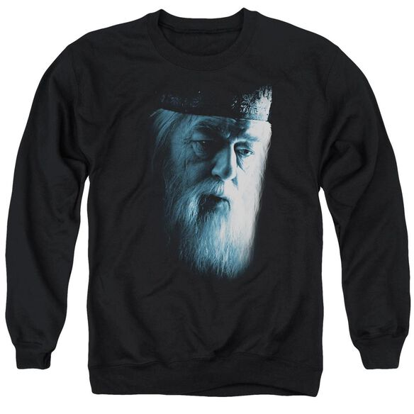 Harry Potter Dumbledore Face Adult Crewneck Sweatshirt