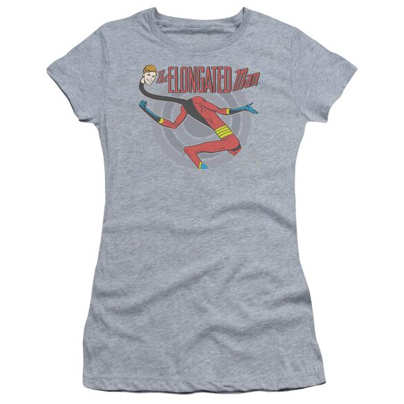 Dc Elongated Man Short Sleeve Junior Sheer Athletic T-Shirt