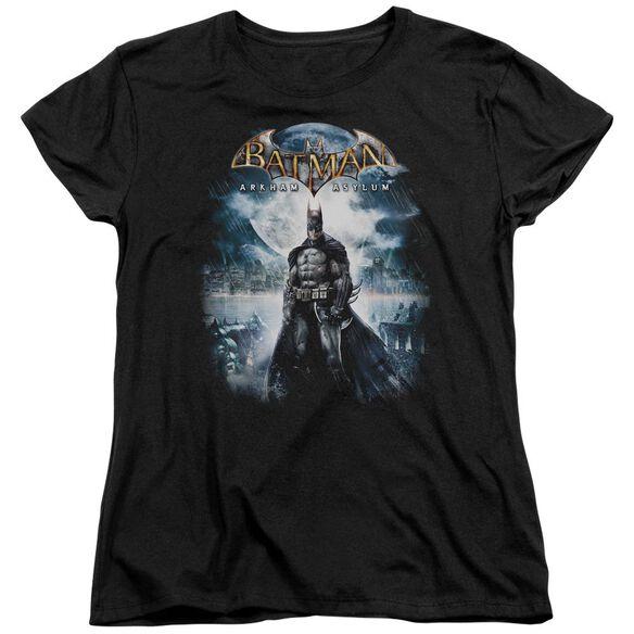 Batman Aa Game Cover Short Sleeve Womens Tee T-Shirt