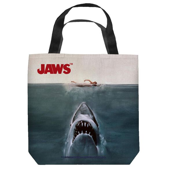 Jaws Jaws Poster Tote