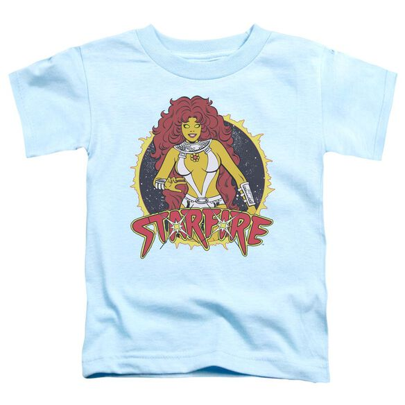 Dc Starfire Short Sleeve Toddler Tee Light Blue Lg T-Shirt