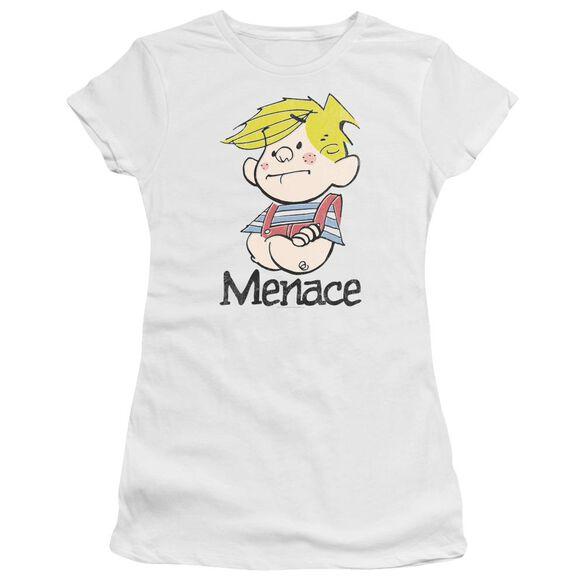 Dennis The Menace Menace Hbo Short Sleeve Junior Sheer T-Shirt
