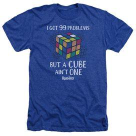 Rubik's Cube 99 Problems Adult Heather Royal