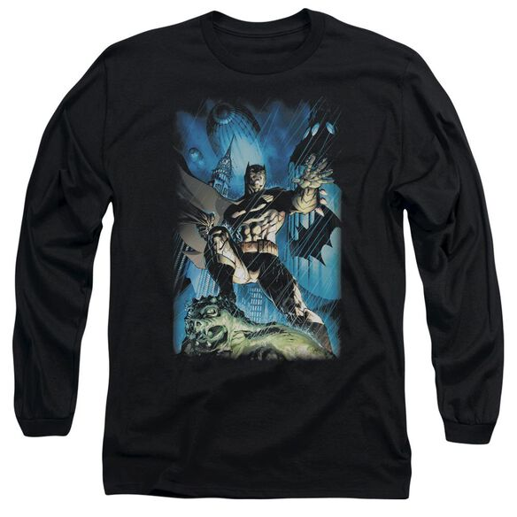 Batman Stormy Dark Knight Long Sleeve Adult T-Shirt