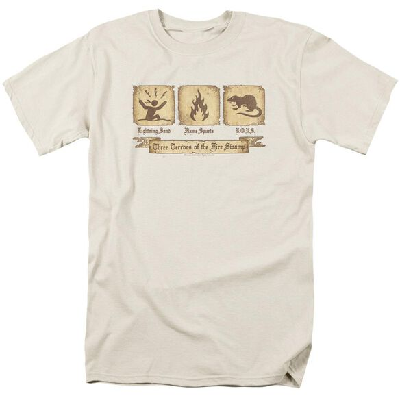 Pb Three Terrors Short Sleeve Adult Cream T-Shirt