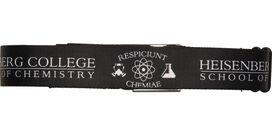 Breaking Bad Respiciunt Chemiae Seatbelt Belt