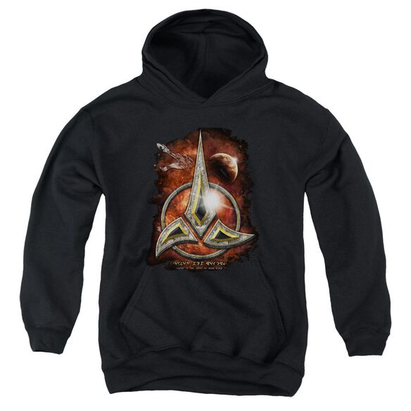 Star Trek Klingon Crest Youth Pull Over Hoodie