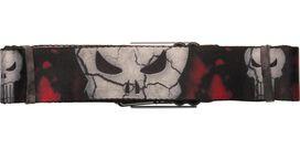 Punisher Stone Skull Seatbelt Belt