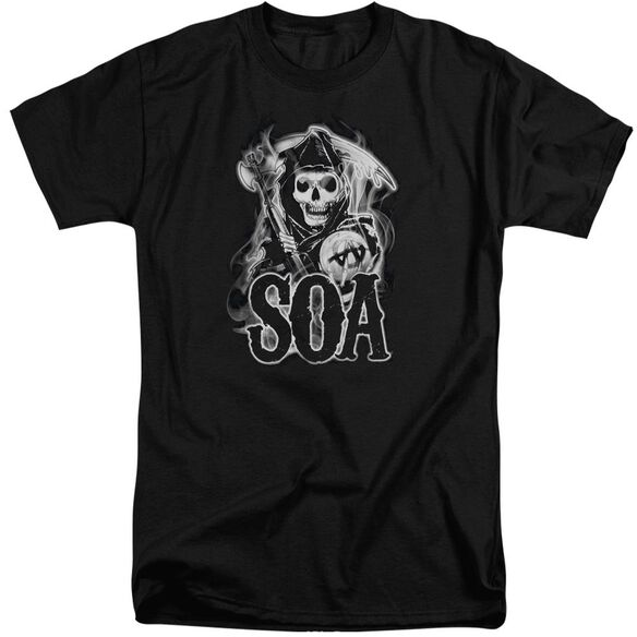 Sons Of Anarchy Smoky Reaper Short Sleeve Adult Tall T-Shirt