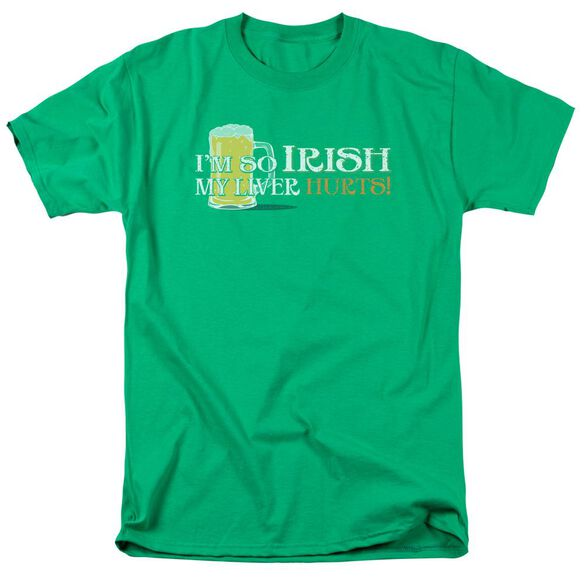 So Irish Short Sleeve Adult Kelly Green T-Shirt